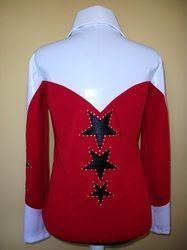 Custom Western Pleasure Horse Show shirt jacket,Rodeo Queen,vest,clothes,showmanship,horsemanship