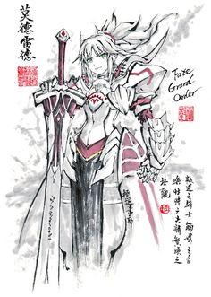 Mordred (Rider) · Fate Grand O Fate Zero, Saber Fate Grand Order, Fate Quotes, Manga Anime, Anime Art, Desu Desu, Fate/stay Night, Type Moon Anime, Character Art