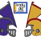 Congrats to 49er fans  Ravens fans! Youre going to the SUPER BOWL!  This is a mini set of FREE football clipart that features one helmet for ...