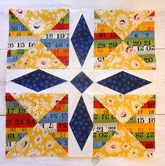 Minnesota Block for Summer Sampler Series - I'd like to see the whole quilt made up of this block