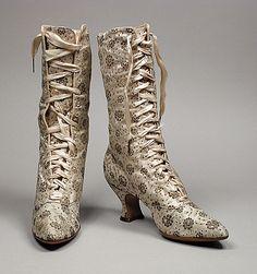 XIX Victorian boots