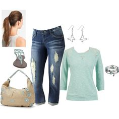 plus size, created by bkassinger on Polyvore