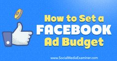 How to Set a Facebook Ad Budget http://www.socialmediaexaminer.com/facebook-ad-budget-how-to-set?utm_source=rss&utm_medium=Friendly Connect&utm_campaign=RSS @smexaminer