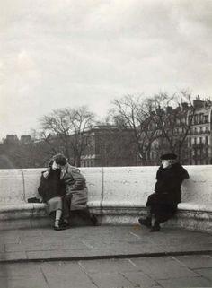 Le baiser du Pont Neuf, 1950. Robert Doisneau