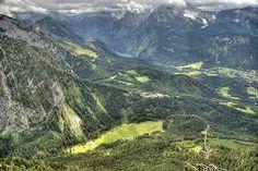 Bavaria, view from Kehlsteinhaus.