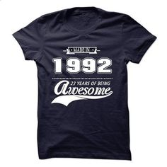 Made in 1992 , Aged to Perfection - #funny tee #victoria secret sweatshirt. MORE INFO => https://www.sunfrog.com/No-Category/Made-in-1992-Aged-to-Perfection-60518843-Guys.html?68278