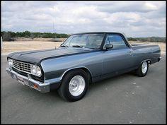 Two-tone beauty. 1964 Chevrolet El Camino  350 CI, Automatic    #MecumHouston