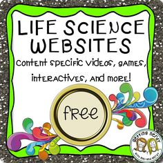 Science Websites: Top List of Online Videos, Games & Interactive Sites FREE