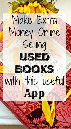 Do you know that you can sell your old or used books and make some extra cash? It is all the more easy when you do it online with this useful app. Earn Money From Home, Earn Money Online, Way To Make Money, How To Make, Money Today, Online Income, Money Fast, Online Jobs, Sell Old Books