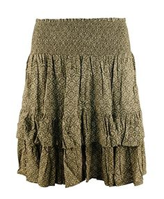MINKPINK Womens Kick Back Wrap Denim Skirt Chambray Small ** Check this awesome product by going to the link at the image.