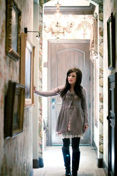 Kari Jobe - and honestly, I really wanna go shopping with this girl. She has an AMAZING sense of style!
