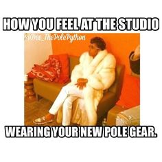 Just got my phone back from the Apple doctor - that's why I'm getting a late start. But you know I can't forget about #MondayFunday. If you have a funny pole related post to share like my girl @dee_thepolepython HASHTAG #PoleDanceNation. #PoleDance #PoleDancer #DeesPoleMemes #PoleTrick #PoleTricks #PoleProblems #PolePeopleProblems #POTD #LOL #Funny # #True #HowYouFeel #NewClothes #Memes #FunnyMemes #HappyMonday