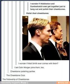 Cheekbone polishing :)