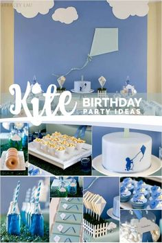 Kite Themed Birthday Party