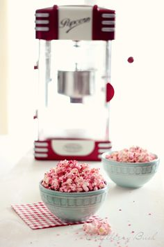 For a pink baby shower - Cotton Candy Popcorn