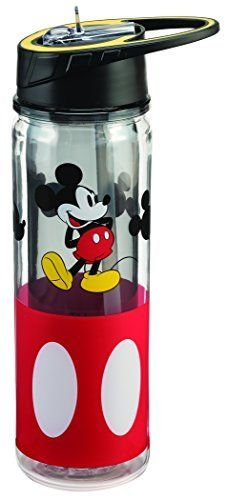 Disney Mickey Mouse 18 Oz. Tritan Water Bottle 89175  Price: US $17.00 & FREE Shipping  #kitchen #love #home #lovedkitchen