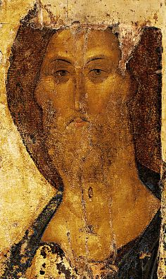 Byzantine art: just the way normal faces look with eyes in them.