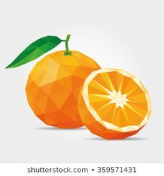 Find Polygonal Tangerine Vector stock images in HD and millions of other royalty-free stock photos, illustrations and vectors in the Shutterstock collection. Cool Wallpapers For Computer, Polygon Art, Orange Art, Diy Gift Box, Arte Pop, Geometric Shapes, Canvas Art, Paper Crafts, Drawings
