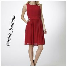 """❤️ Sleeveless Valentine's Day Dress Looking for something to wear on Valentine's Day? Look no further! This is the perfect dress to wear on that special night out!   Length: 36"""" Bust: 40"""" Midsection: 32"""" Moon Collection Dresses Midi"""