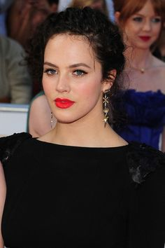 Jessica Brown-Findlay hits the red carpet for the Philips British Academy Television Awards (BAFTAS) held at The Grosvenor House Hotel in London.