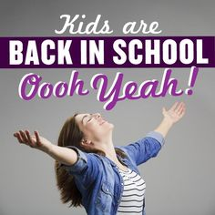 You did it! You entertained your kids all summer long and got them all out the door for a new school year. Time to kick up your feet for a minute and check out all the deals at pickyourplum.com during our Kids Are Back In School Event happing now. Go ahead, treat yourself a little, you earned it!