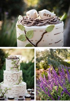 Sweet Violet Bride - http://sweetvioletbride.com/2013/01/agoura-hills-rustic-backyard-wedding-from-bycherry-photography/