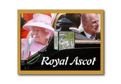 Queen Elizabeth Diamond Jubilee Royal Ascot postcard