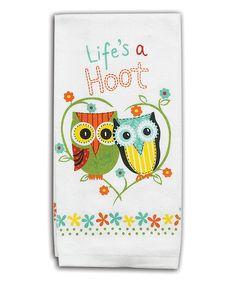 'Life's A Hoot' Towel