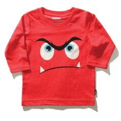 Big face monster l/s tee