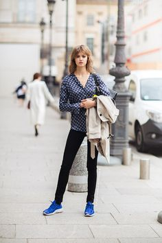 cool. #LindseyWixson #offduty in Paris.