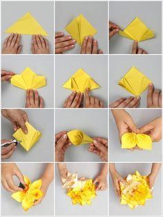 53 Anleitungen Fur Origami Blume So Werden Sie Einzigartige