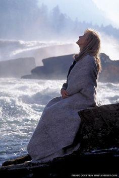 I love this photo of Meryl