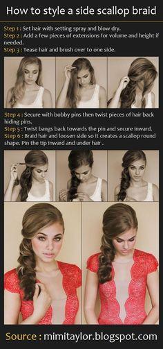 Fotos de moda | 10 formas diferente de realizar trenzas | http://soymoda.net