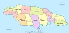 China Map, Port Royal, Ocho Rios, Island Map, Austria Travel, St Thomas, Caribbean Sea