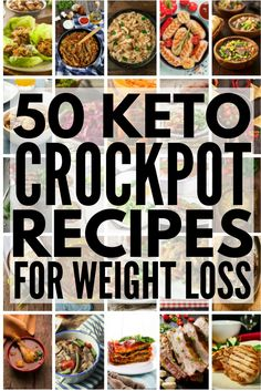 50 Keto Crockpot Recipes Were sharing 50 low carb ketogenic diet approved easy dinners you can make in your crock pot Whether you prefer chicken beef pork ground turkey. Keto Crockpot Recipes, Ketogenic Recipes, Cooker Recipes, Low Carb Recipes, Diet Recipes, Dairy Free Keto Recipes, Ground Beef Keto Recipes, Ketogenic Cookbook, Atkins Recipes