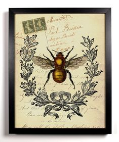 Bee Insect Antique I