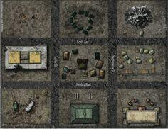 Barrenblock; shadowrun, floorplan