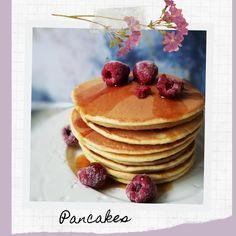 Pancake facile & moelleux Brunch, Dessert, Veggies, Breakfast, Food, Baking Soda, Vegetarian Cooking, Morning Breakfast, Greedy People