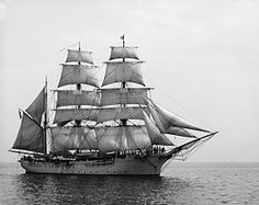 June 20, 1958 – The iron barque Omega of Callao, Peru (built in Scotland, 1887), sinks on passage carrying guano from the Pachacamac Islands for Huacho, the world's last full rigged ship trading under sail alone.
