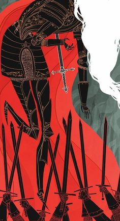 The Knight of Swords, an art print by Noelle Stevenson - INPRNT