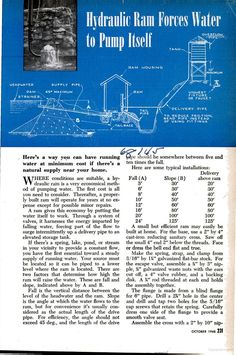 Popular Science - Google Books  1948  Running water without electricity