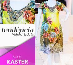 Seu dia mais fashion e colorido com esse belíssimo vestido da nossa coleção de primavera/verão 2015.
