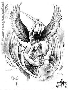 São Miguel Arcanjo - Altar - oratorio - igreja - católicos - anjos - tattoo  desenho - tatuagem - Miguel - oração - novena   http://www.arcanjomiguel.net  https://novecoros.blogspot.com.br  Combatentes SMA - Arcanjomiguel-NET