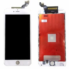 LCD Touch Screen Digitizer Frame Assembly Replacement Screen For iPhone 6S Plus 5.5 inch Screen Replacement With Free Tools—White *** Click image for more details. (This is an affiliate link) #PhoneReplacementParts