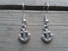 Mini Anker Ohrringe maritim Ahoi von Küstenmädel auf DaWanda.com
