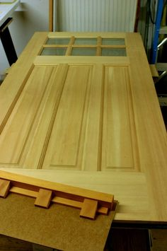 Craftsman Front Door & Heart of Oak Workshop Arts u0026 Crafts style Doors Furnishings and ...