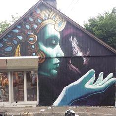 aerosol gun for hire  Kali  #omenfest #omen514 #graffiti #mtn94 #montreal #love #street