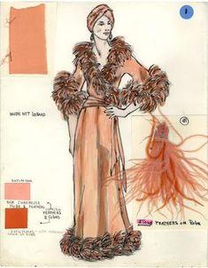 Costume Renderings Page 7 - Broadway Design Exchange Costume Design, Broadway, Sketches, Costumes, Prints, Art, Drawings, Art Background, Apparel Design
