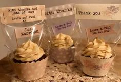 Cupcake Wedding Favors Visit the post for more. Cake Boxes Packaging, Bake Sale Packaging, Cupcake Packaging, Baking Packaging, Bread Packaging, Dessert Packaging, Food Packaging Design, Cupcakes Packaging Ideas, Mini Cupcakes