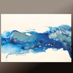 Hey, I found this really awesome Etsy listing at https://www.etsy.com/listing/233092862/abstract-canvas-art-painting-36x24-blue